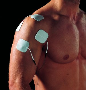 Muskelstimulator Training Schultermuskulatur EMS Elektroden