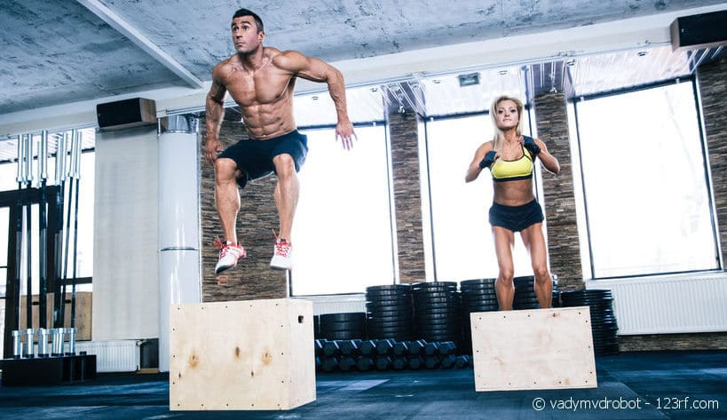 Box Jumps als HIIT-Training