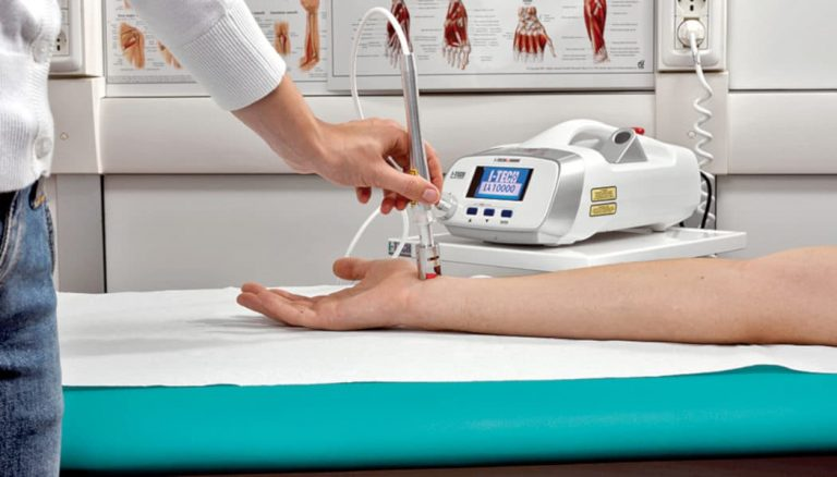 Lasertherapie Behandlungen