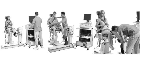 Isotonisches Gewichtstraining mit Hanteln