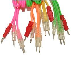 Satz mit 4 COMPEX Wire-Kabeln Neon