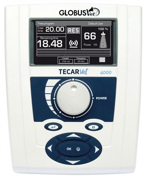 TecarVet Diathermie Gerät für TECAR Therapie bei Pferden