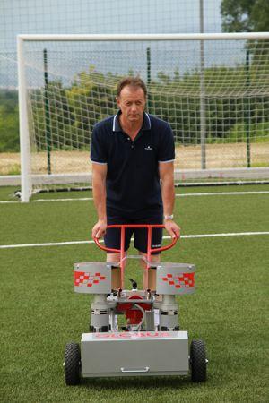 Spineffekte bei Fußball Ballmaschinen