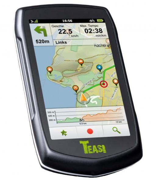 Teasi GPS Tacho für Radfahrer