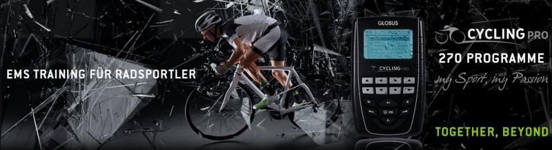 EMS Gerät für Radsportler