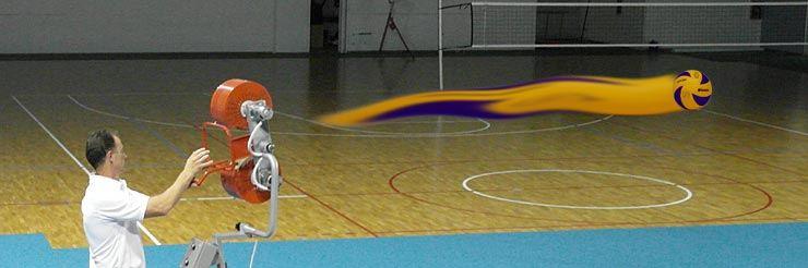 Ballgeschwindigkeit einstellbar