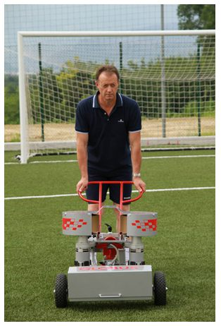 Ballmaschine Fußball