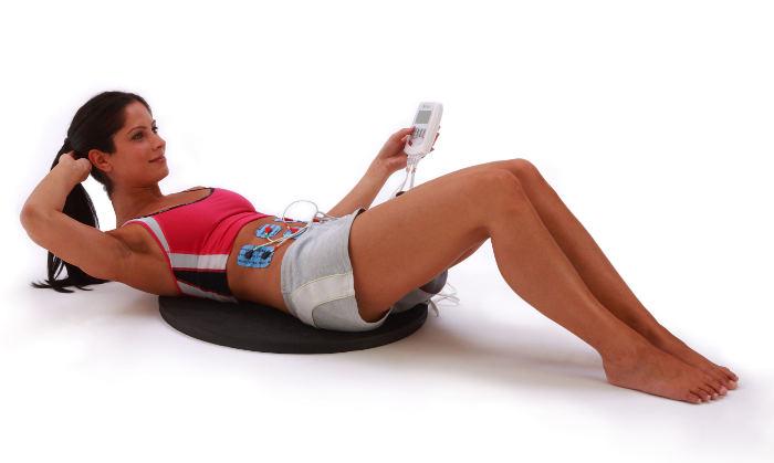 Bauchmuskeltraining mit EMS